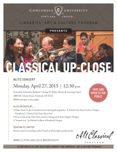 Classical Up-Close flyer